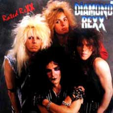Diamond Rexx Hair Metal Band