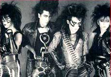 EZO Hair Metal Band