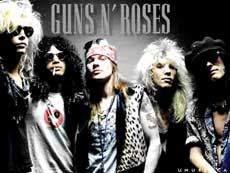 Guns 'n' Roses Hair Metal Band
