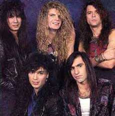 Heaven's Edge Hair Metal Band