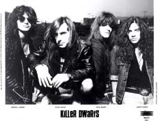 Killer Dwarfs Hair Metal Band
