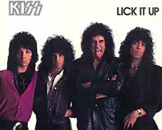 Kiss Hair Metal Band