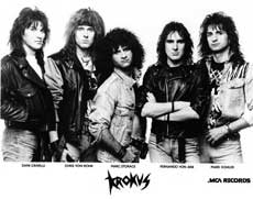 Krokus Hair Metal Band