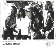 McQueen Street Hair Metal Band