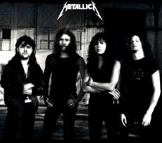 Metallica Hair Metal Band