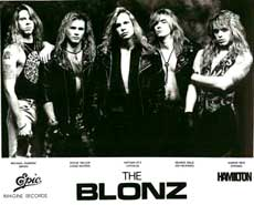The Blonz Hair Metal Band