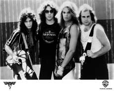 Van Halen Hair Metal Band