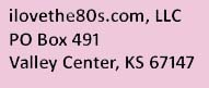 ilovethe80s.com address