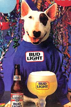 Spuds MacKenzie Bud Light