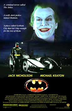 Batman Movie Poster 1989