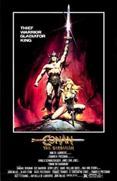 Conan the Barbarian Movie Poster 1982