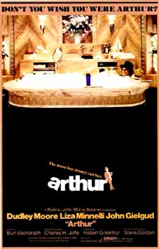 Arthur Movie Poster 1981