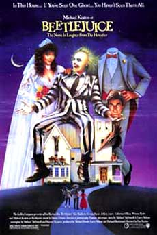 The Beetlejuice Movie Poster