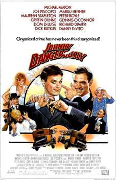 Johnny Dangerously Movie Poster