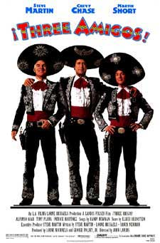 Three Amigos Movie Poster