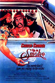 Cheech & Chong Up in Smoke Movie Poster