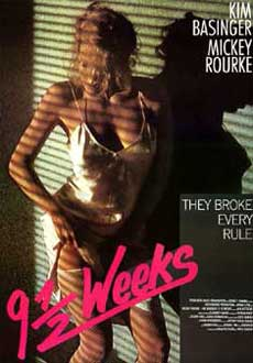 9 1/2 Weeks Movie Poster