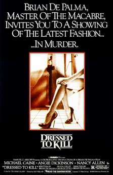 Dressed to Kill Movie Poster