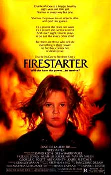 Firestarter Movie Poster 1984