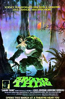 Swamp Thing Movie Poster