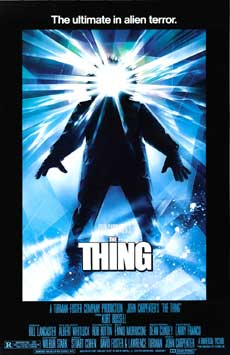 The Thing Movie Poster 1982