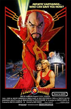 Flash Gordon 1980 Movie Poster