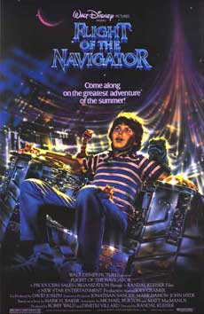 Flight of the Navigator Movie Poster