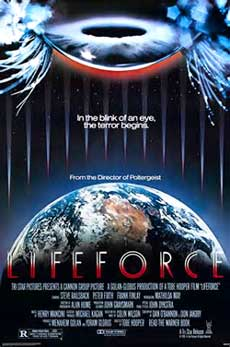 Lifeforce Movie Poster