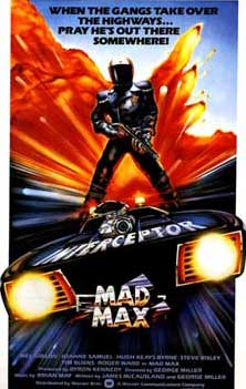 Mad Max 1979 Movie Poster