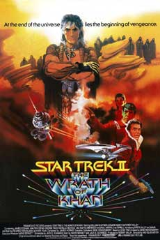 Star Trek the Wrath of Kahn Movie Poster