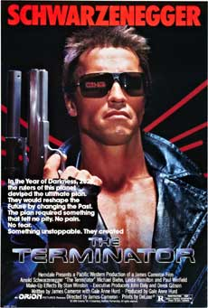 The Terminator 1984 Movie Poster