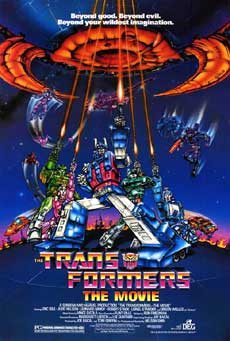 Transformers the Movie 1986 Poster