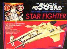 Buck Rogers Star Fighter 80's Toys