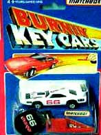 Burnin' Key Cars 1980's
