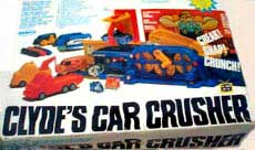 Clyde's Car Crusher Toy