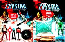 Crystar and the Crystal Warriors Action Figures