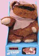 Ewoks Plush Doll 80's Toys
