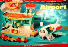Fisher Price Airport 80's Toys