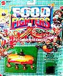 Food Fighters Action Figures