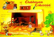 Get Along Gang Clubhouse Caboose