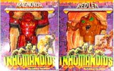 Inhumanoids Action Figures