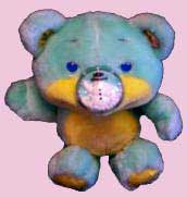 Nosy Bears Plush 80's Toys