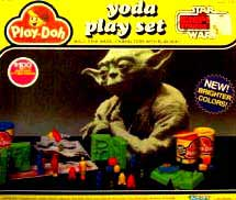 Play Doh Yoda Playset