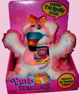 Purr Tenders Plush 80's Toys