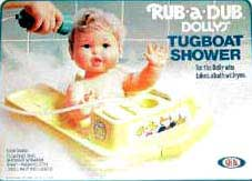 Rub a Dub Dolly 80's Toys