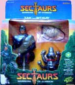 Sectaurs Action Figures