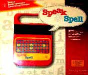 Speak and Spell 80's Toy