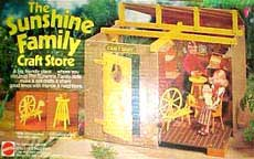 The Sunshine Family 80's Toys