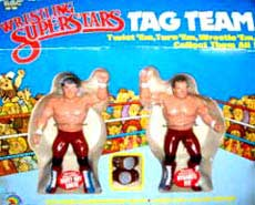 WWF Action Figures 1980's